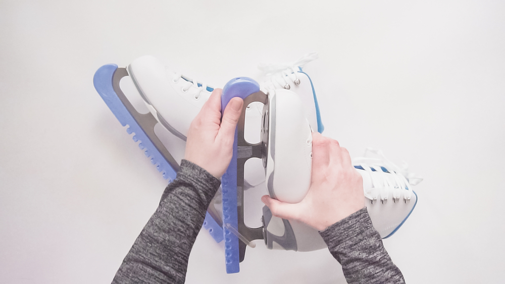 Protecting ice skates for life in summer self storage